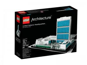 LEGO Architecture Hoofdkwartier van de Verenigde Naties 21018