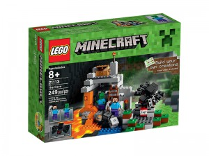 LEGO Minecraft De Grot 21113