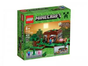 LEGO Minecraft De Eerste Nacht 21115