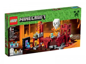 LEGO Minecraft Nether fort 21122