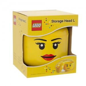 LEGO Opberghoofd Groot (Storage Head L) Meisje