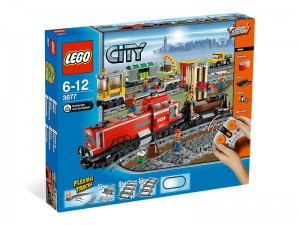 LEGO City Rode Vrachttrein 3677