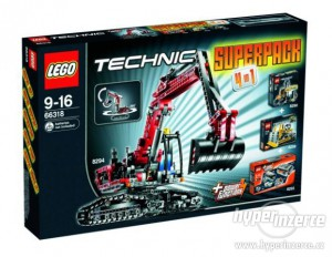 LEGO Technic Superpack 4 in 1 66318