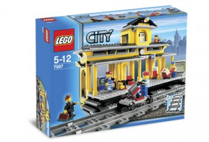 LEGO City Retro Treinstation 7997