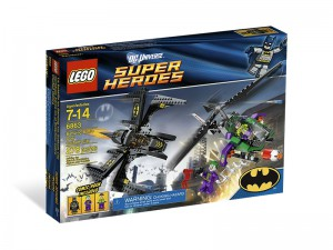 LEGO Super Heroes Batwing gevecht boven Gotham City 6863