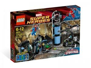 LEGO Super Heroes Spiderman Doc Ock hinderlaag 6873