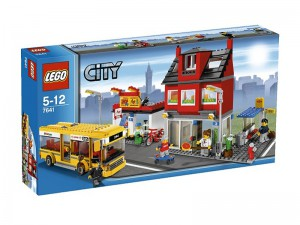 LEGO City De Straathoek 7641