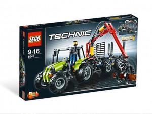 LEGO Technic Tractor met Boomstammentrailer 8049