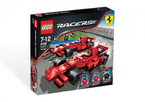 LEGO Racers Ferrari Victory 8168