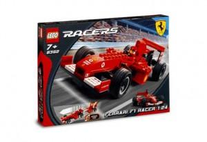 LEGO Racers Ferrari F1 racewagen 1:24 8362