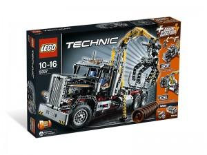 LEGO Technic Houttransporttruck (Boomstammentransport) 9397