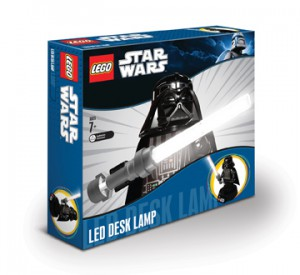 LEGO Star Wars Darth Vader LED bureaulamp