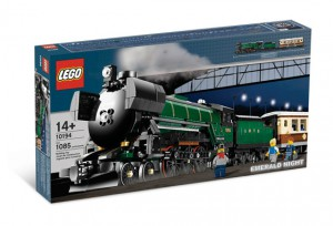 LEGO Emerald Night trein 10194