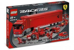LEGO Scuderia Ferrari Truck 8654