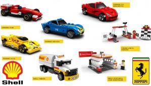 LEGO Ferrari Shell Collectie 40190 40191 40192 40193 40194 40195 40196