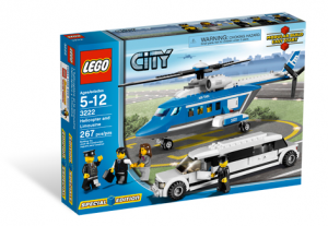 LEGO City Helicopter met Limousine 3222