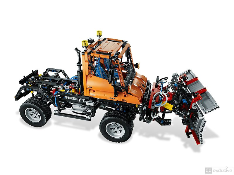 lego technic mercedes benz unimog u 400 8110 brickexclusive lego. Black Bedroom Furniture Sets. Home Design Ideas