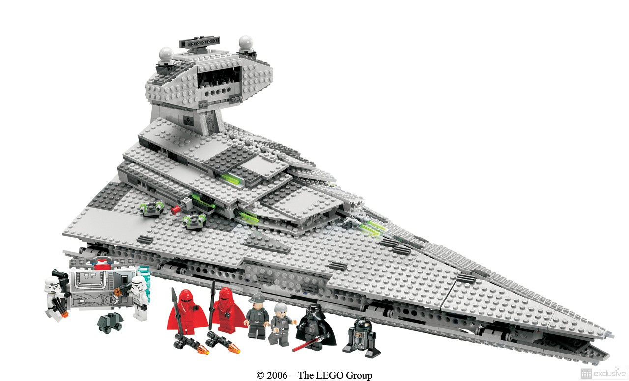 lego star wars imperial star destroyer 6211 brickexclusive lego. Black Bedroom Furniture Sets. Home Design Ideas