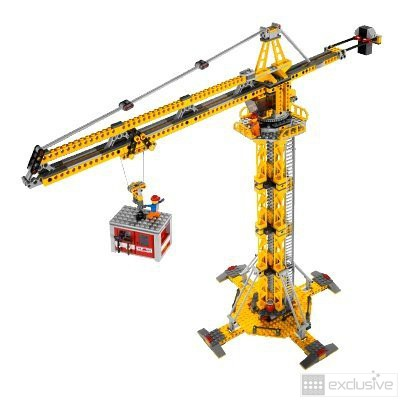 Lego Tower Crane Lego City Building Crane 7905