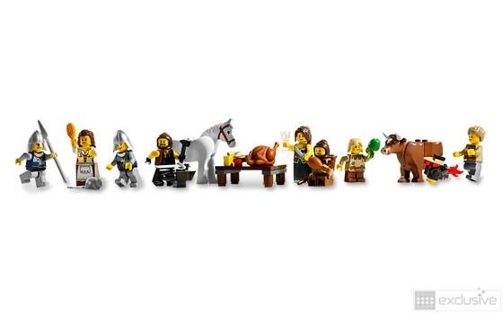 LEGO® Medieval Market Village 10193 - BRICKexclusive LEGO®