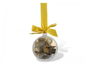 LEGO Holiday Ornament with Gold Bricks 853345
