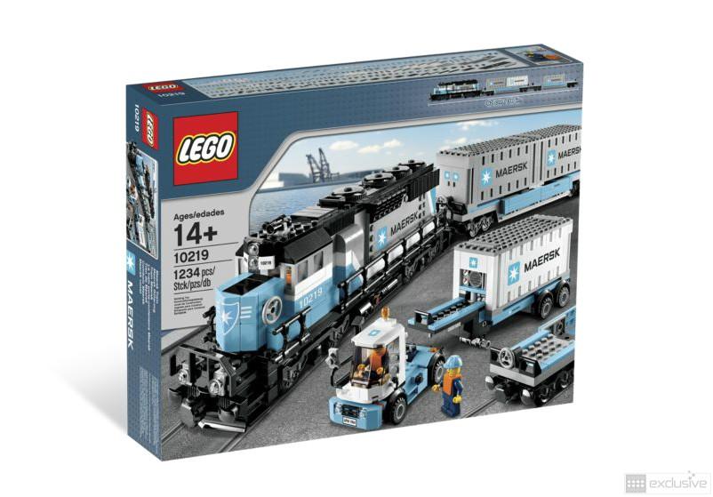 Lego Maersk Trein 10219 Brickexclusive Lego